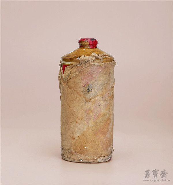 1971年  黄釉瓶五星牌贵州茅台酒